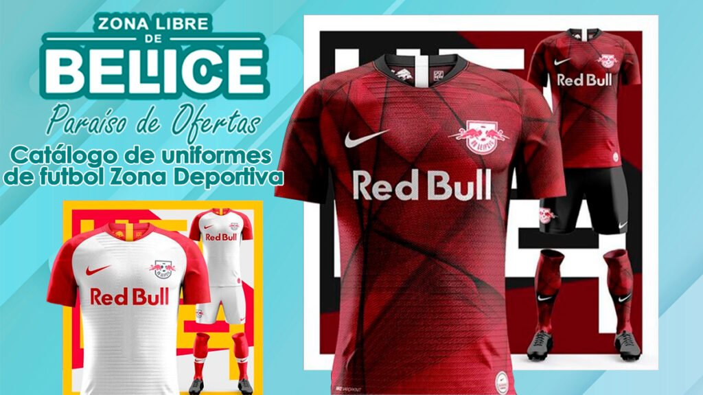 Catálogo de uniformes de futbol Zona Deportiva